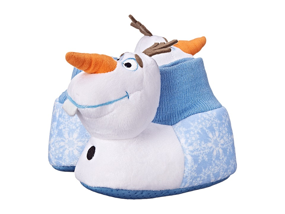 Favorite Characters - Disney Frozen Olaf FRF208 Slipper (Toddler/Little Kid) (White) Girls Shoes