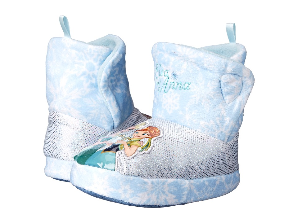 Favorite Characters - Disney Frozen Ana/Elsa FRF203 Slipper (Toddler/Little Kid) (Light Blue) Girls Shoes