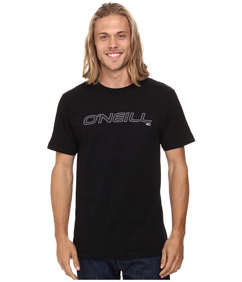 O'Neill - Only One Short Sleeve Screen Tee (Black 1) Men's T Shirt