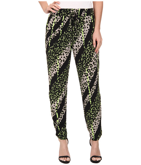 Brigitte Bailey - Raven Print Pants (Green Multi) Women