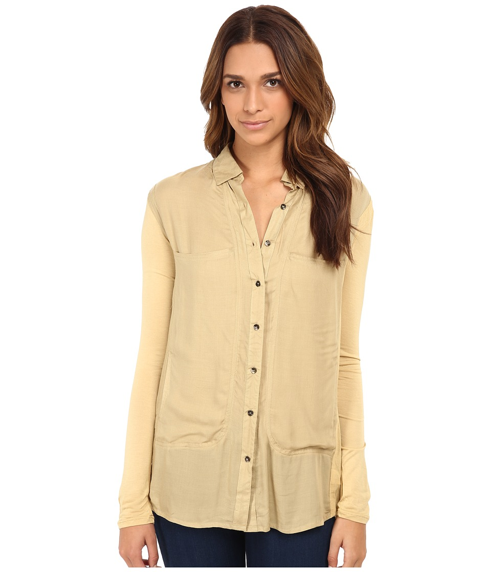 Free People - Breakfast In Bed (Hay) Women's Blouse