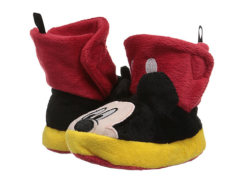 Favorite Characters - Disney Mickey MMF236 Slipper (Toddler) (Black) Boys Shoes
