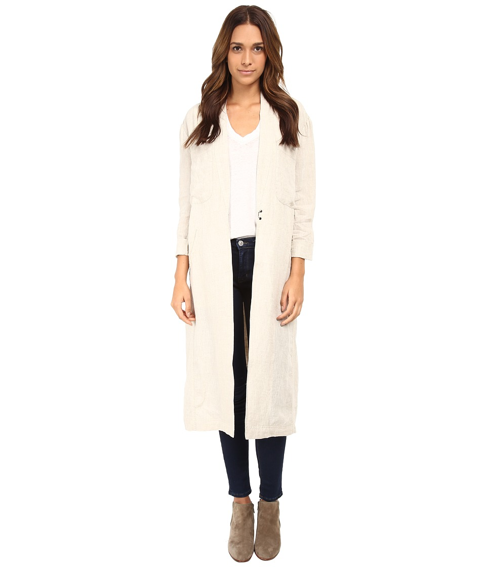 Free People - Linen Duster Jacket (Natual Linen) Women
