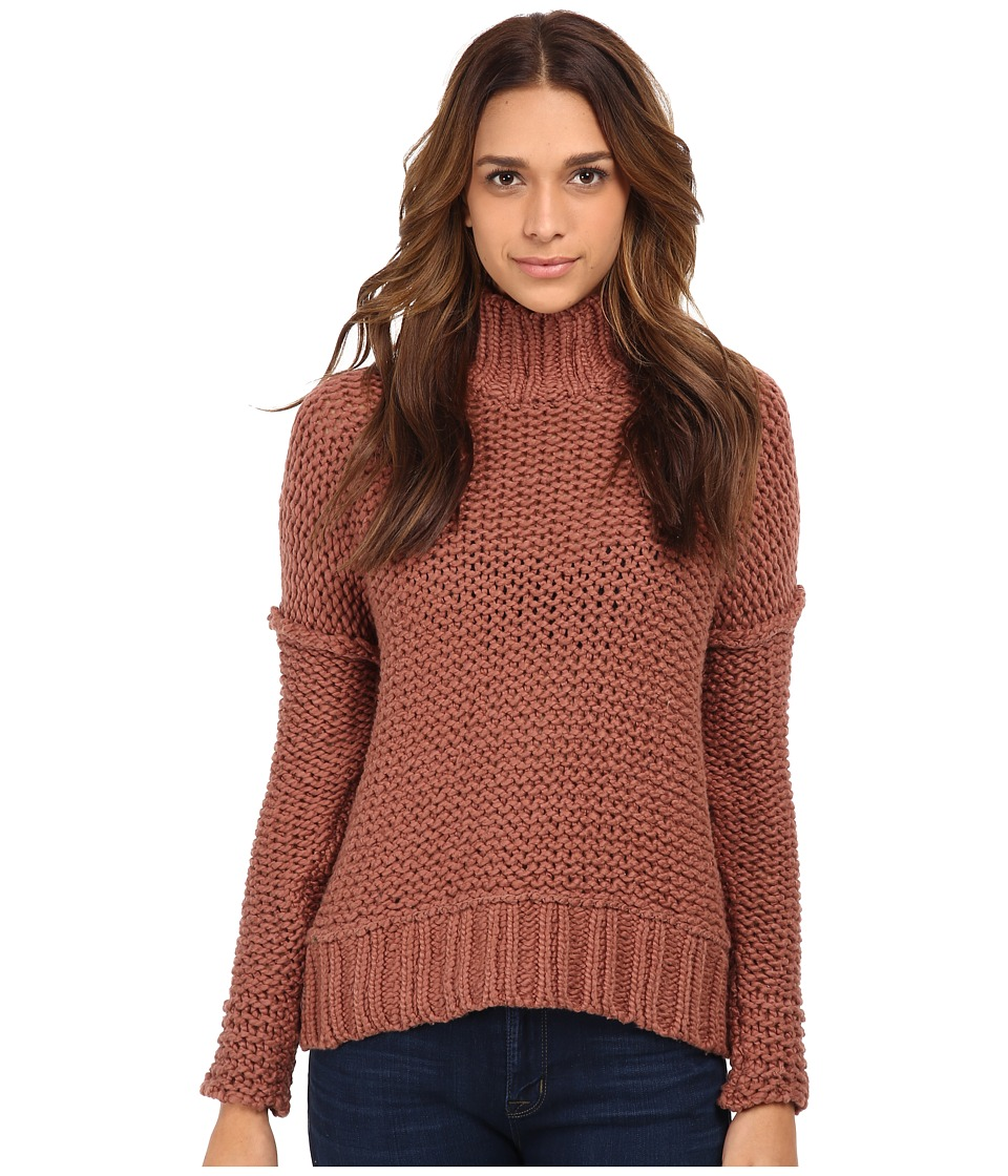 Free People - Long Summer Pullover Sweater (Desert Pink) Women's Sweater