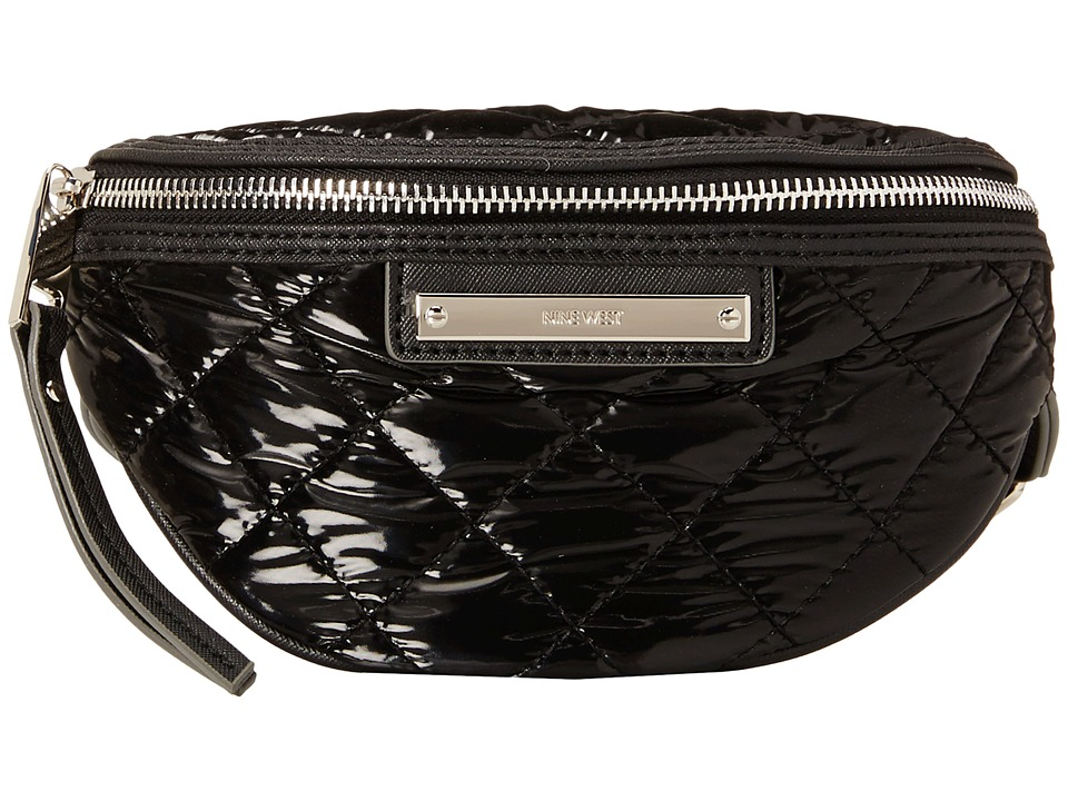 Nine West - The Space Between Small Fann (Black) Handbags