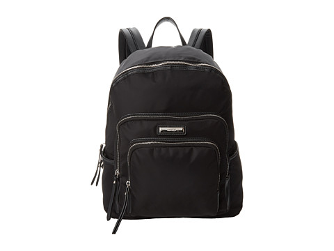 Nine West - Pick A Pocket Large Backpack (Black) Handbags