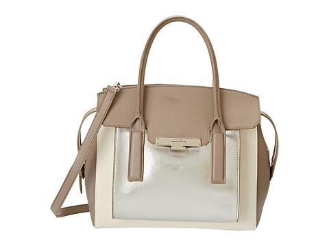 Nine West - Strong Angles Large Satchel (Snow Petal) Satchel Handbags