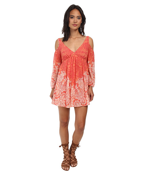 Free People - Penny Lover Mini Dress (Clemenitne Combo) Women's Dress
