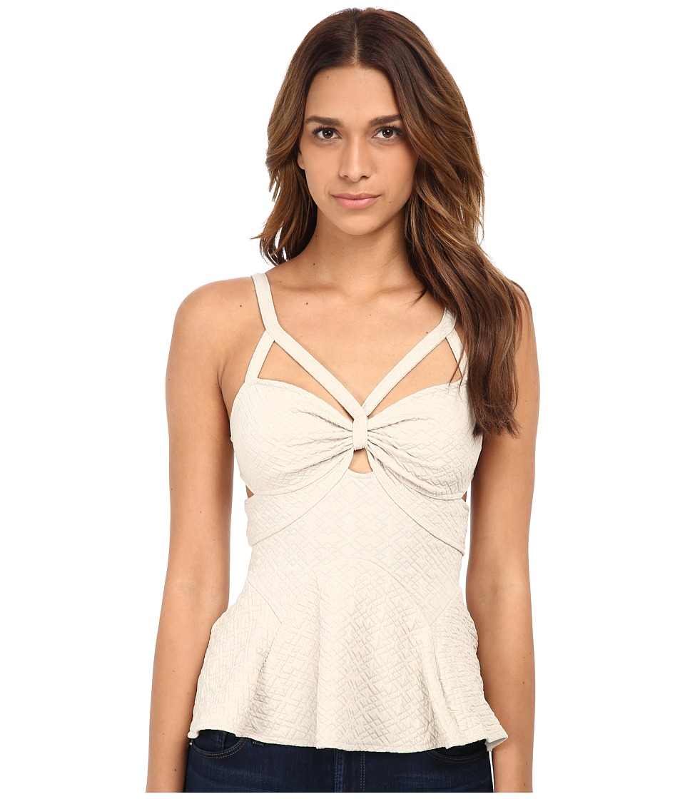 Free People - Royalty Top (Sand) Women's Clothing