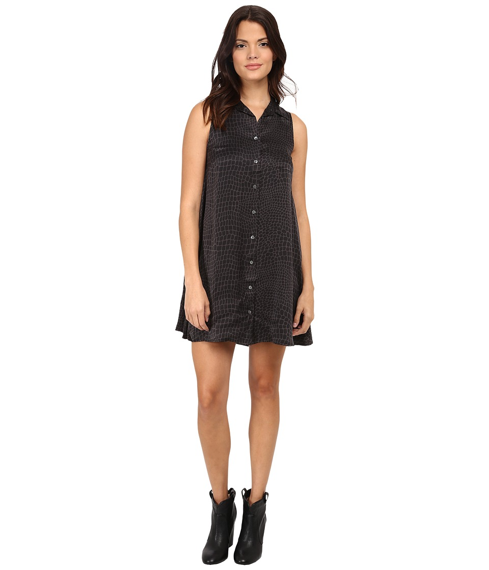 EQUIPMENT - Mina Dress (True Black) Women's Dress