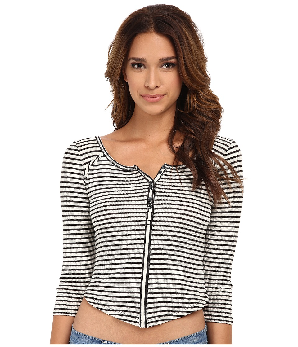 Free People - Stars and Stripes Top (Ivory Combo) Women