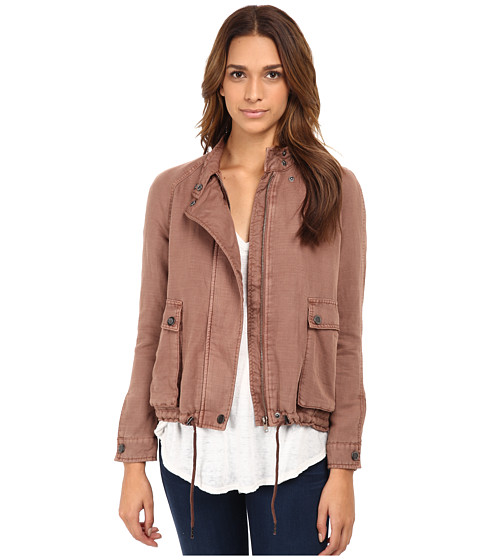 Free People - Swing Sporty Coat (Fawn) Women's Coat