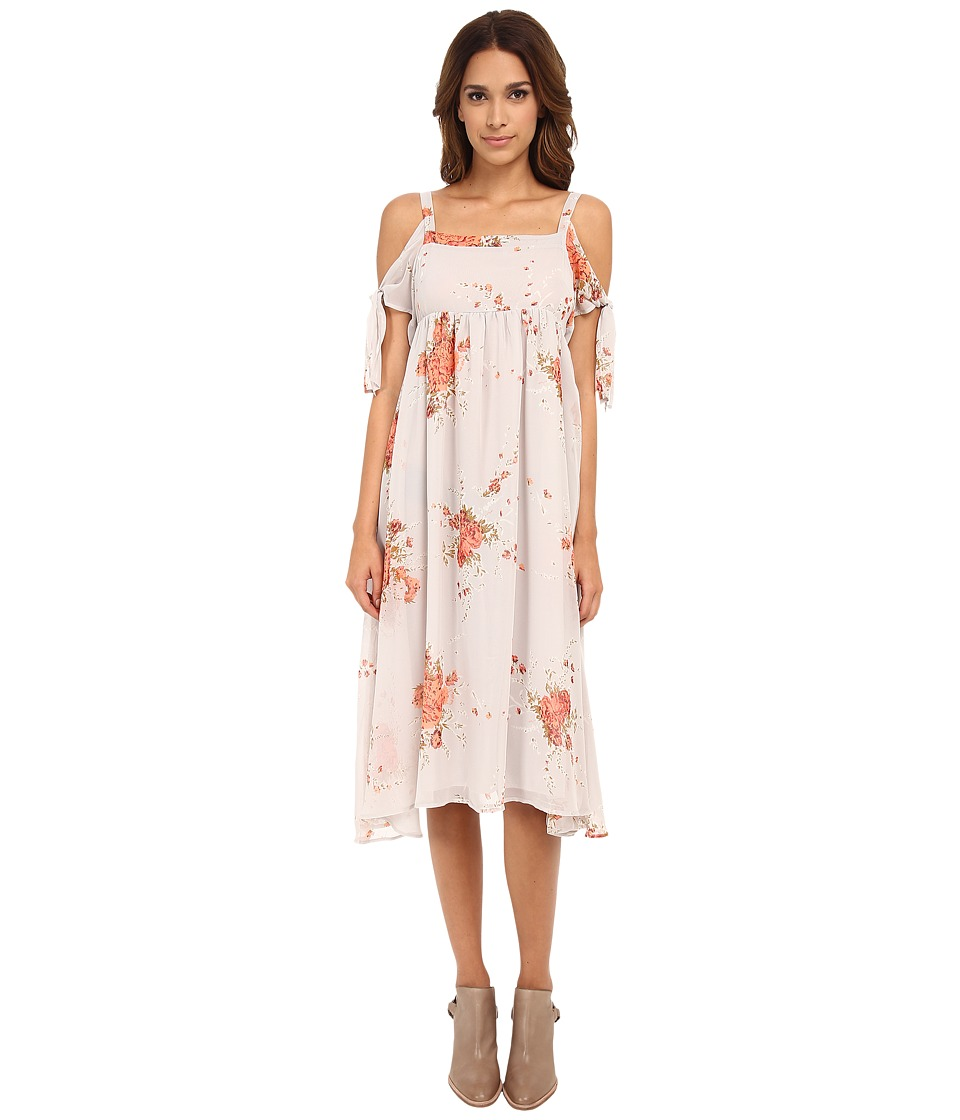 Free People - Tied To You Dress (Sand Combo) Women's Dress