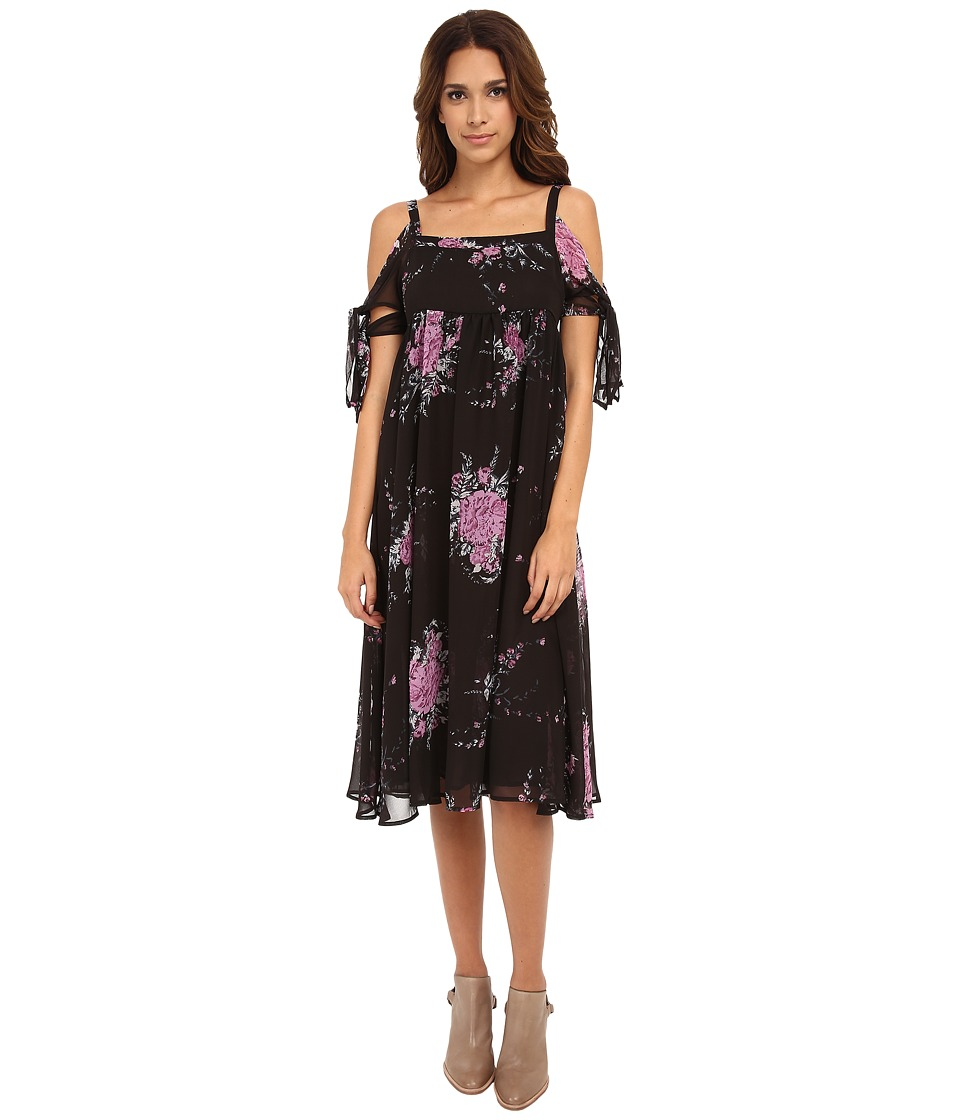 Free People - Tied To You Dress (Midnight Combo) Women's Dress