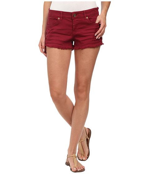 Billabong - Lite Hearted - Side Tie Shorts (Sangria) Women