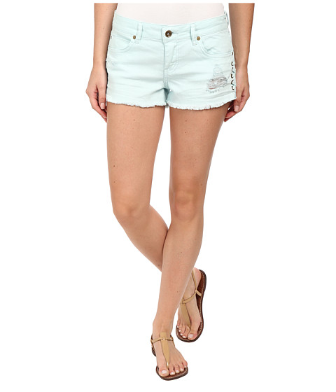 Billabong - Lite Hearted - Side Tie Shorts (Skylight) Women's Shorts