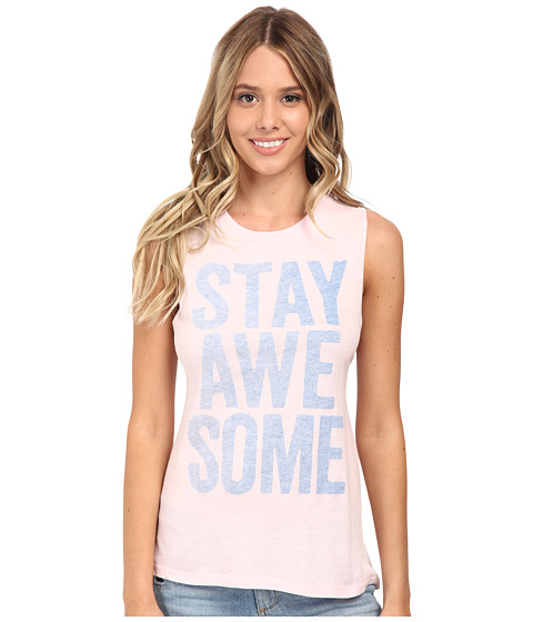 Billabong - Stay Awesome Sleeveless Top (Peaceful Pink) Women