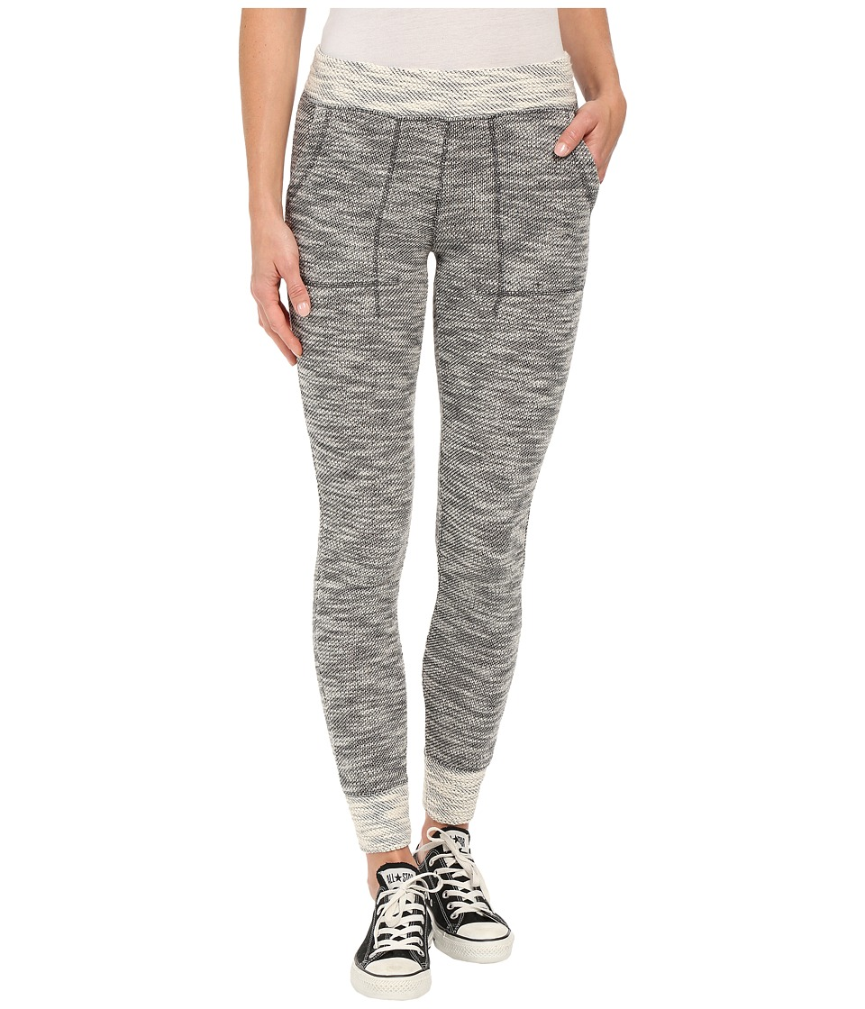 Billabong - Beyond Words Pants (Black/White) Women's Casual Pants