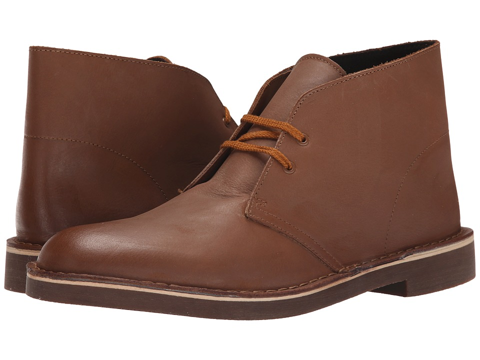 Clarks - Bushacre II (Tan Leather) Men