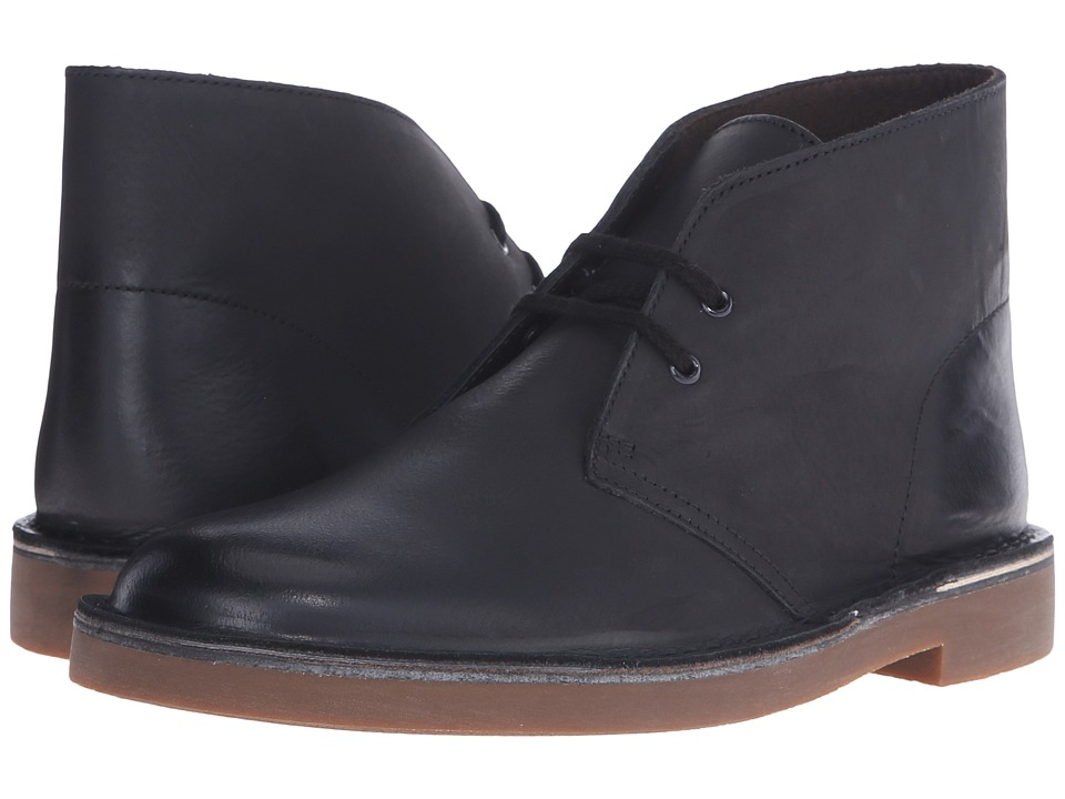 Clarks Bushacre II (Black Leather) Men