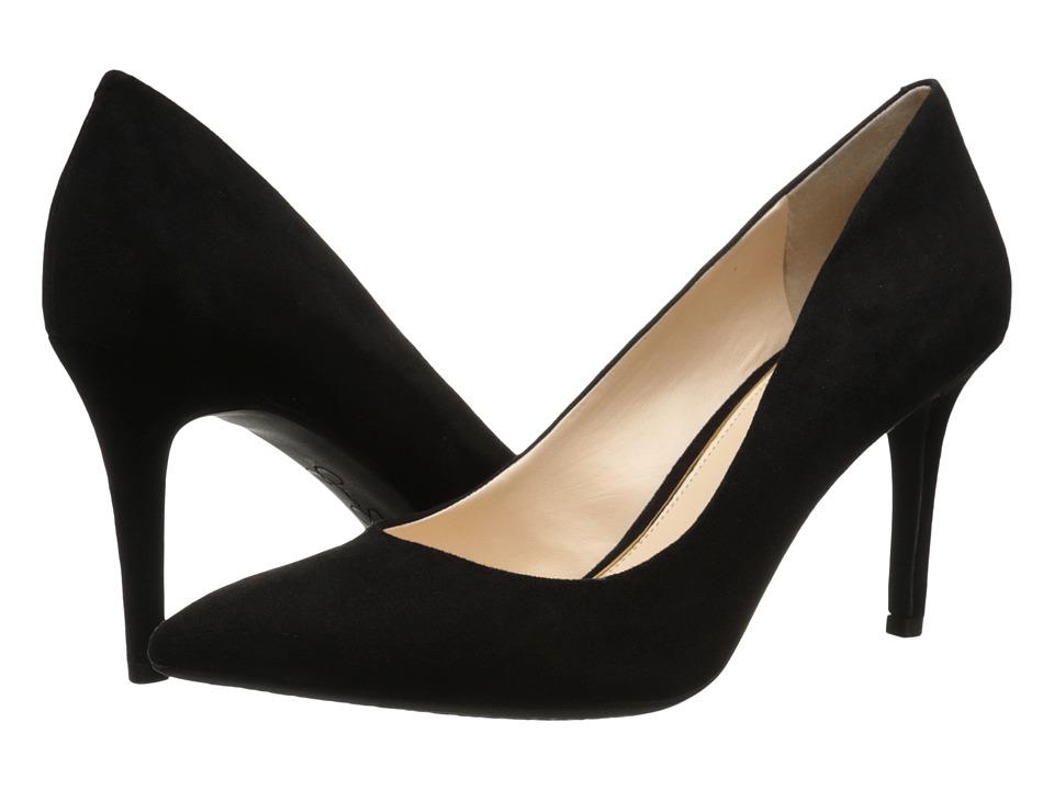 Jessica Simpson - Lory (Black Microsude) High Heels