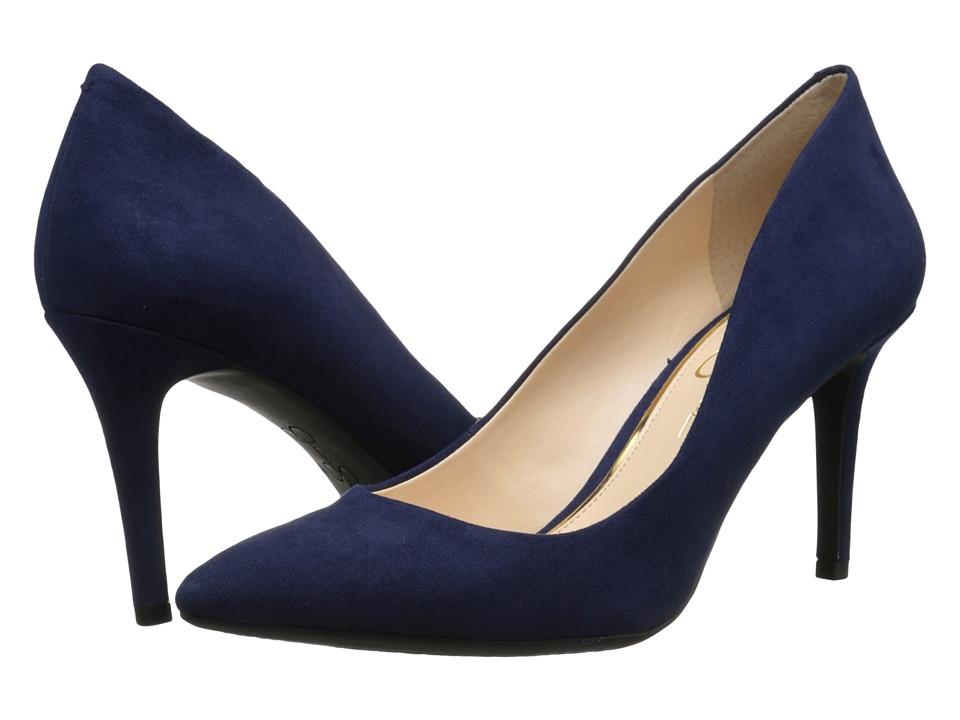 Jessica Simpson - Lory (Saphire Microsuede) High Heels