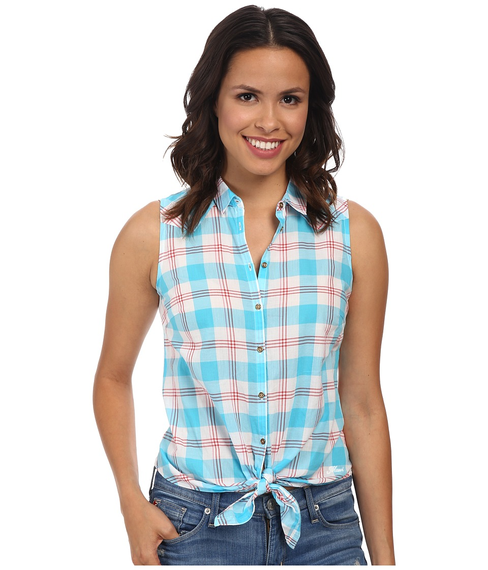 Mavi Jeans - Checked Shirt (Blue) Women's Clothing