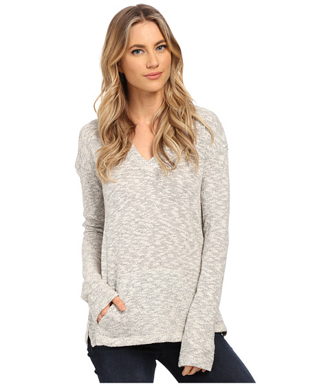 Billabong - First Ride Sweatshirt (Whitecap Heather) Women