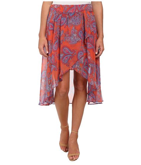 Mavi Jeans - Printed Skirt (Coral) Women's Skirt