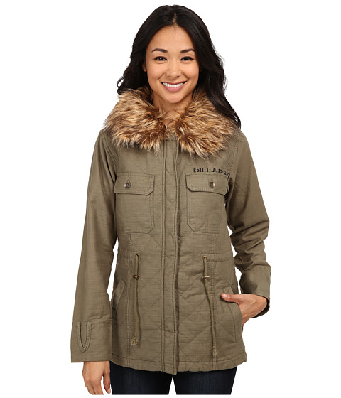 Billabong - A La Military Jacket (Seagrass) Women's Coat