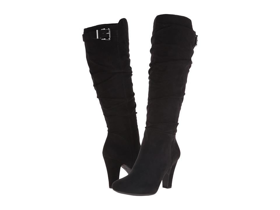 Jessica Simpson - Finnegan (Black Microsuede) Women's Boots