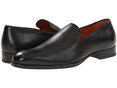 Mezlan - Granada (Black) Men's Slip on Shoes