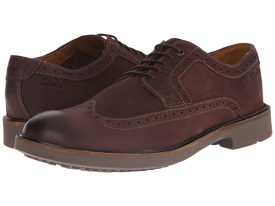Clarks - Wahlton Wing (Chestnut) Men's Shoes
