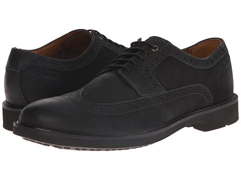 Clarks - Wahlton Wing (Black) Men's Shoes