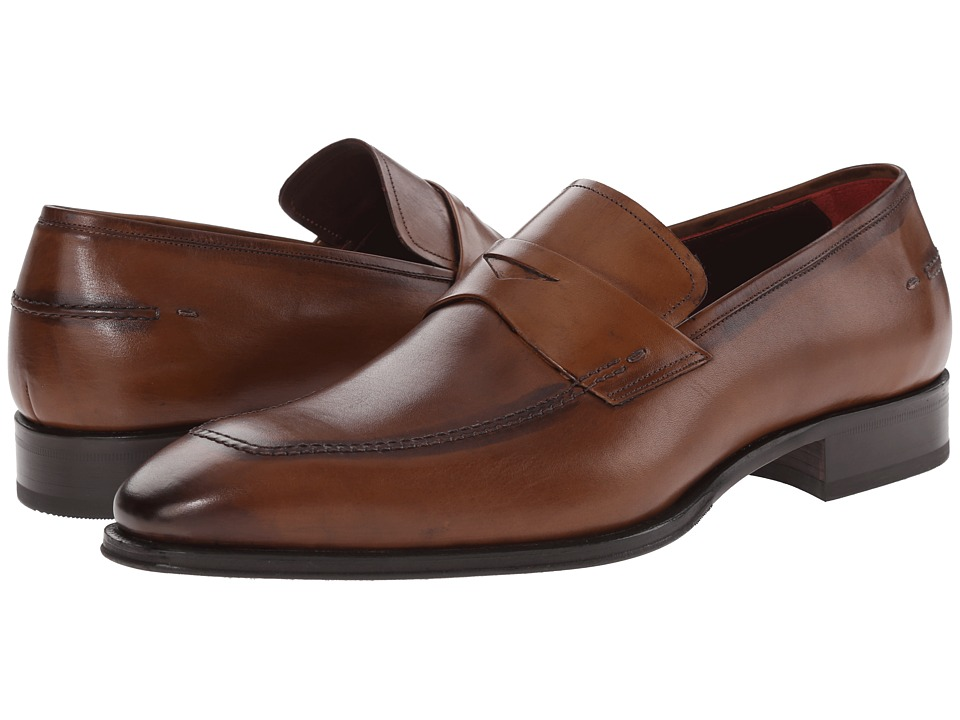 Mezlan - Toulon (Cognac) Men's Slip on Shoes