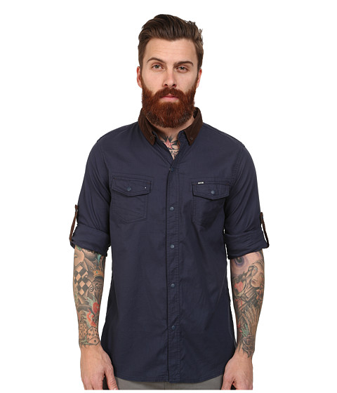 Mavi Jeans - Roll Sleeve Shirt (Deep Blue) Men