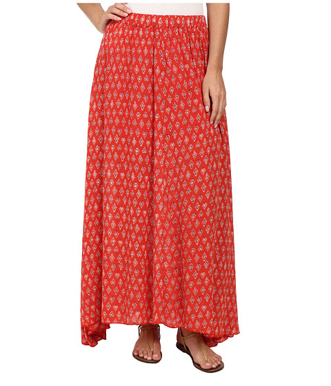 Billabong - Don't Think Of It Skirt (Bikini Red) Women's Skirt