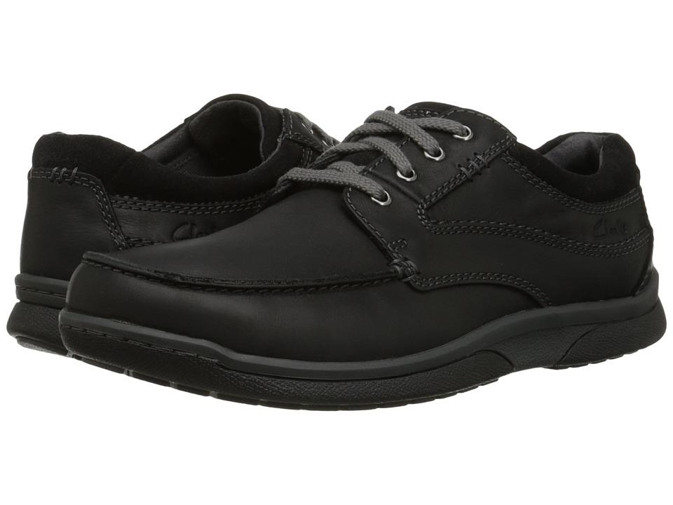 Clarks - Randle Walk (Black) Men's Shoes