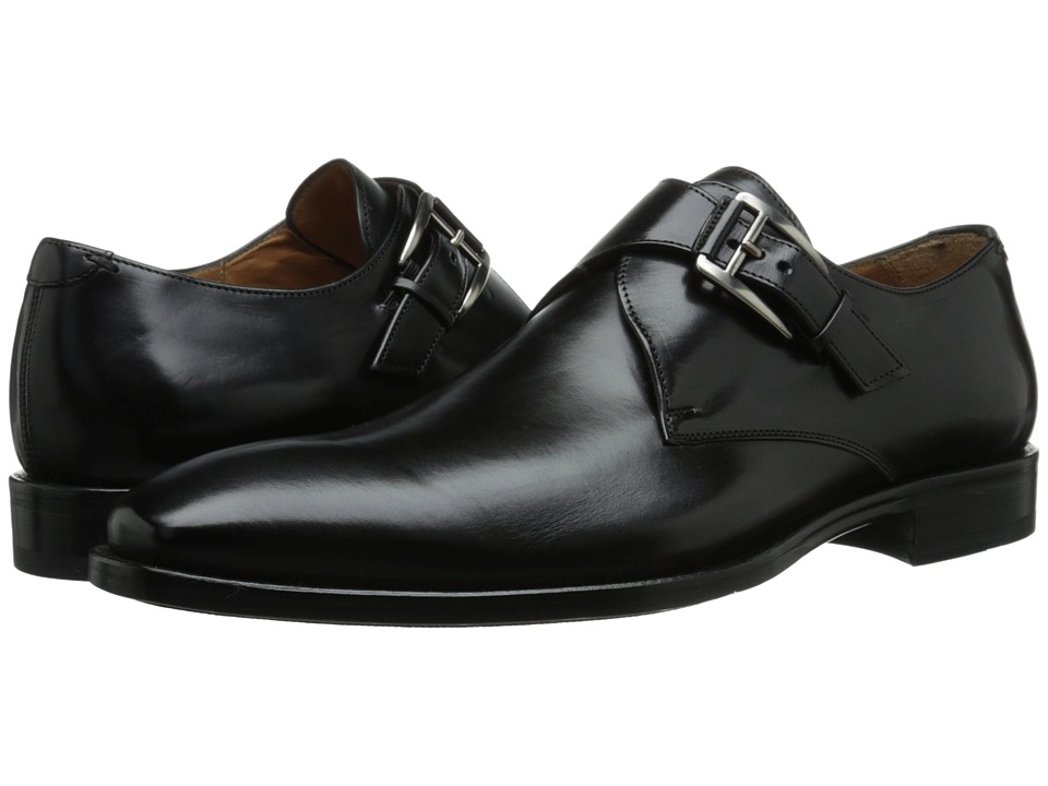 Mezlan - Coimbra (Black) Men's Plain Toe Shoes