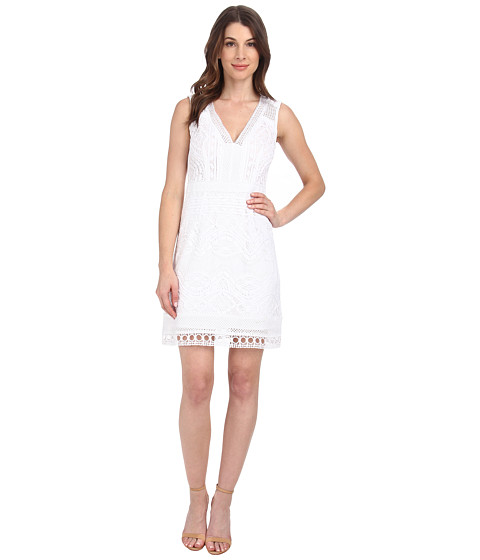Nanette Lepore - Breezy Dress (White) Women's Dress