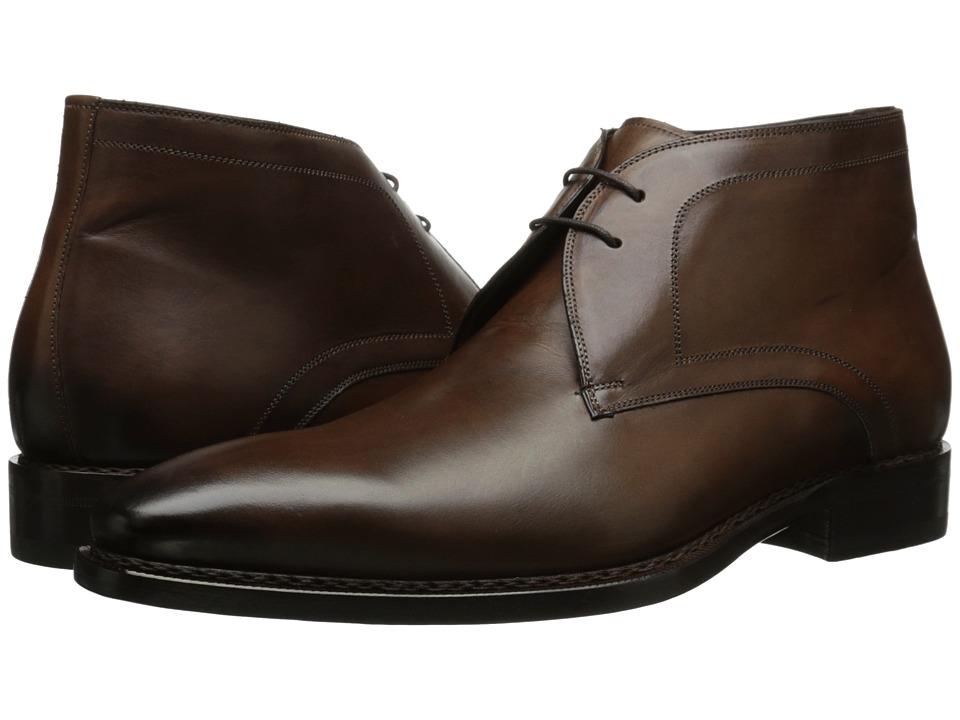 Mezlan - Tuy (Brown) Men's Lace Up Moc Toe Shoes