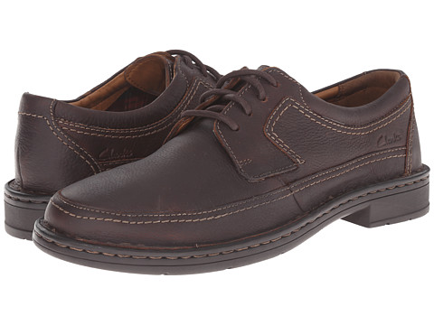 Clarks - Kyros Edge (Brown) Men's Shoes
