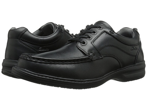 Clarks - Keeler Walk (Black) Men's Shoes