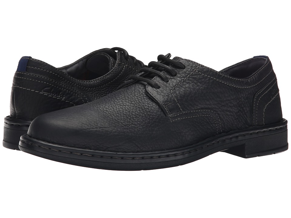 Clarks Kyros Plain (Black) Men