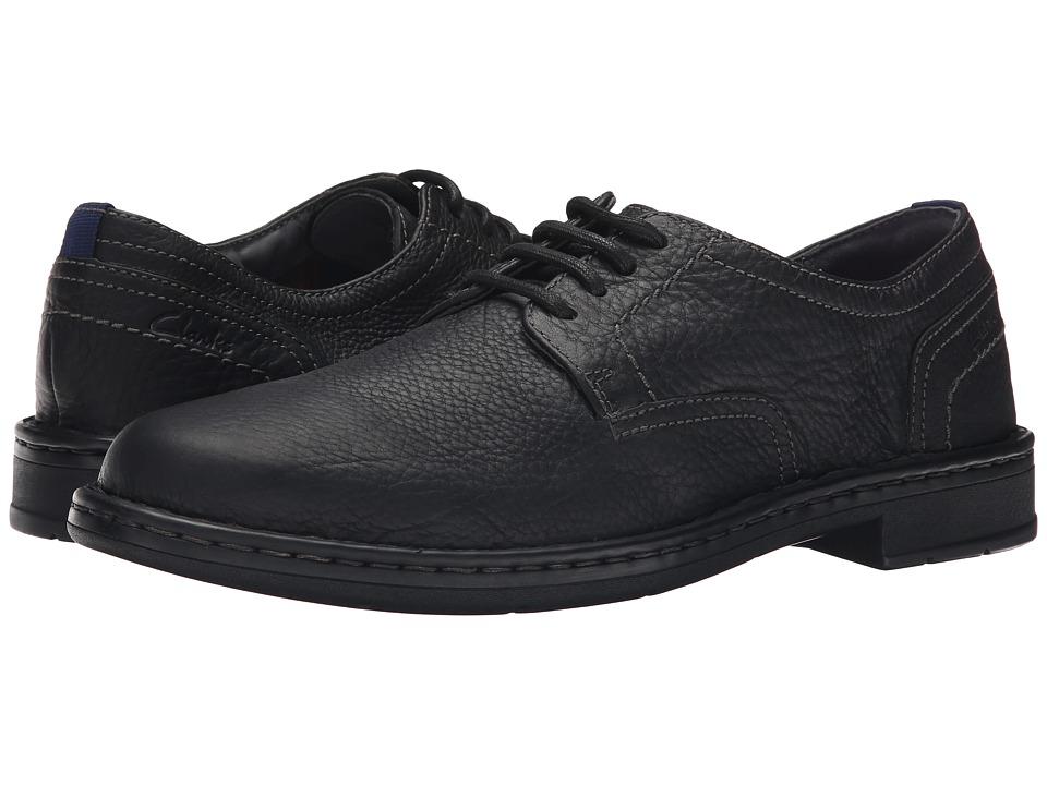 Clarks - Kyros Plain (Black) Men's Shoes