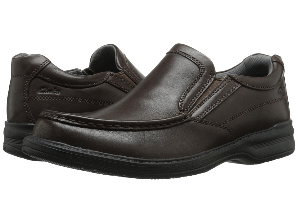 Clarks - Keeler Step (Brown) Men's Shoes