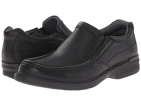 Clarks - Keeler Step (Black) Men's Shoes