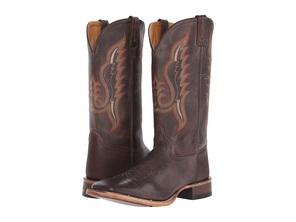 Old West Boots - BSM1855 (Brown Canyon/Thunder Oiled Rust) Cowboy Boots