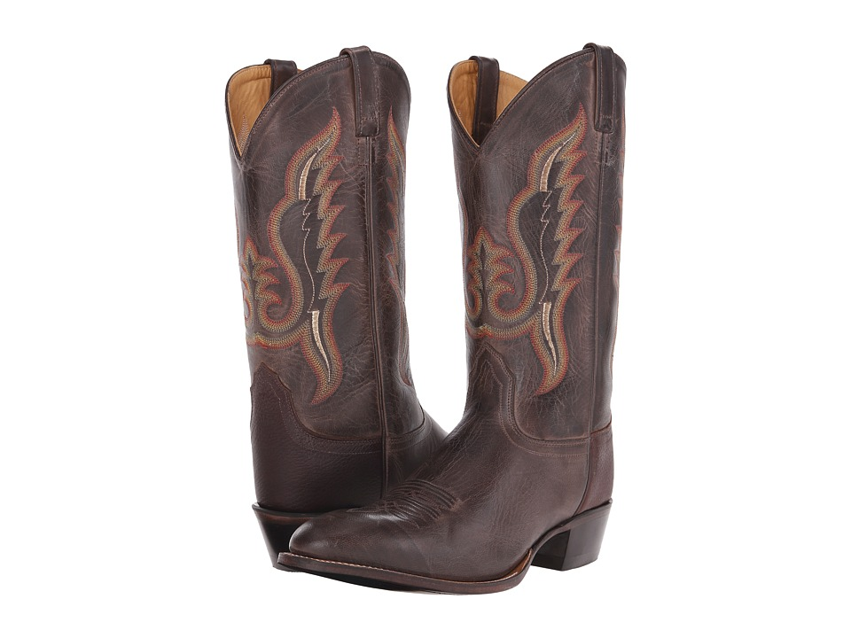Old West Boots - 5235 (Brown Canyon/Thunder Oiled Rust) Cowboy Boots