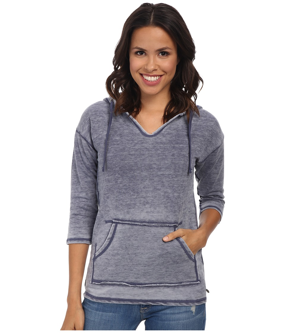 Mavi Jeans - Hooded Sweatshirt (Indigo Blue) Women's Sweatshirt